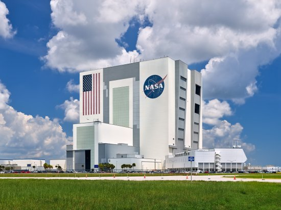 NASA'S rockets are constructed at the Kennedy Space Center's Vehicle Assembly Building in Fla.