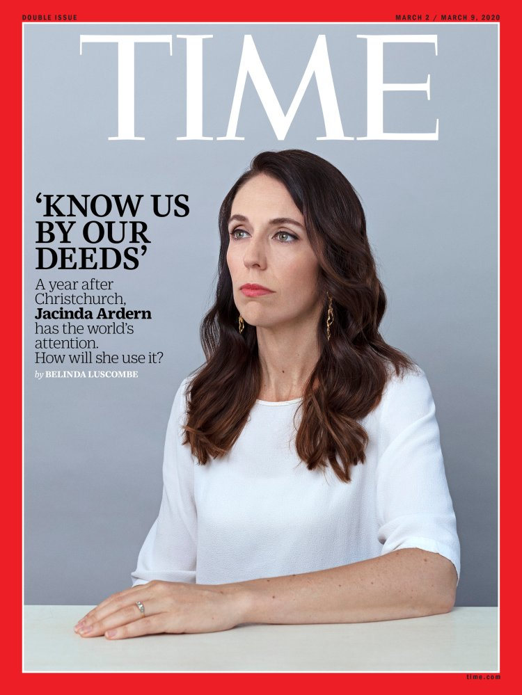 Jacinda Ardern Time Magazine Cover